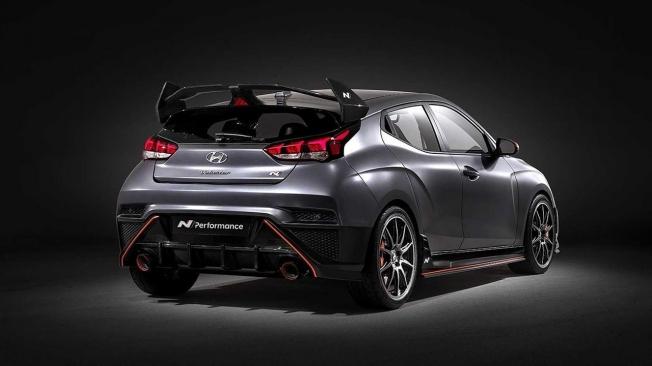Hyundai Veloster N Performance Concept - posterior
