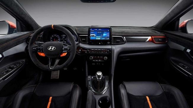 Hyundai Veloster N Performance Concept - interior