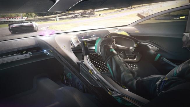 Jaguar Vision Gran Turismo Coupé - interior