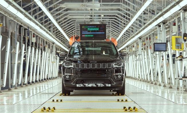 Producción del Jeep Compass en Italia