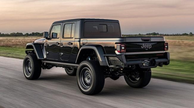 El Jeep Gladiator de Hennessey Performance debuta en el SEMA Show 2019