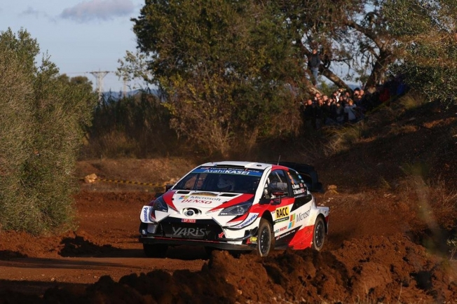 Kris Meeke, fiel a sus costumbres, domina el shakedown del Rally RACC