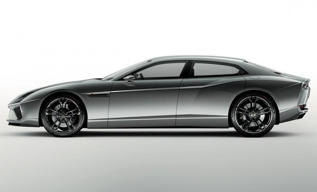 Lamborghini Estoque Concept - lateral