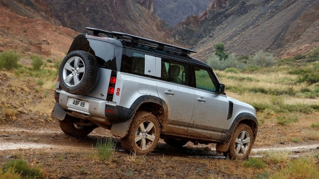 Land Rover Defender 110 - posterior