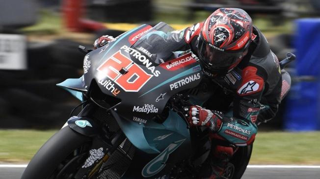 Viñales también conquista la 'pole definitiva' de MotoGP en Australia