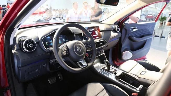 MG eHS - interior