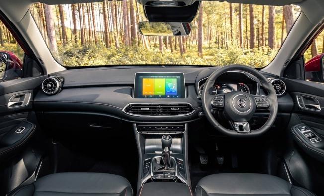 MG HS 2020 - interior