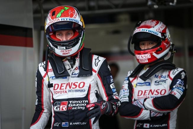 Nakajima y Hartley logran la pole para el Toyota #8 en Fuji