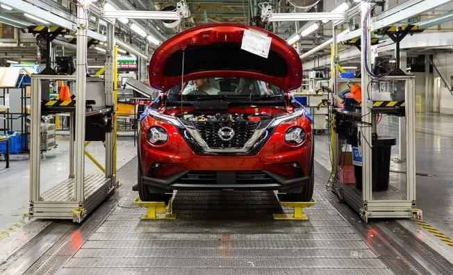 Producción del Nissan Juke 2020