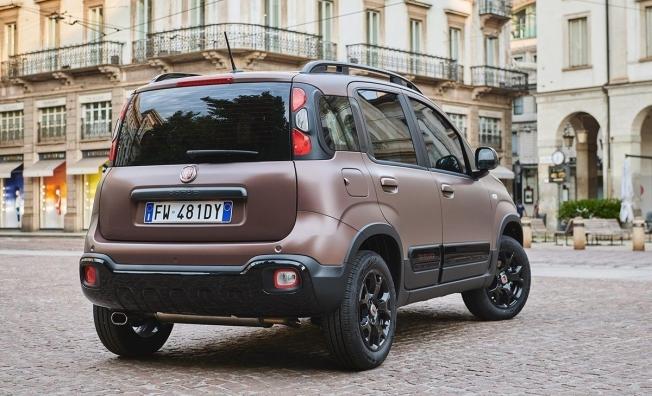 Fiat Panda Trussardi - posterior