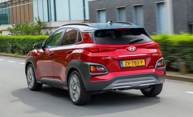 Hyundai Kona Híbrido - posterior