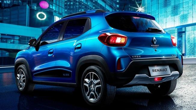 Renault City K-ZE - posterior
