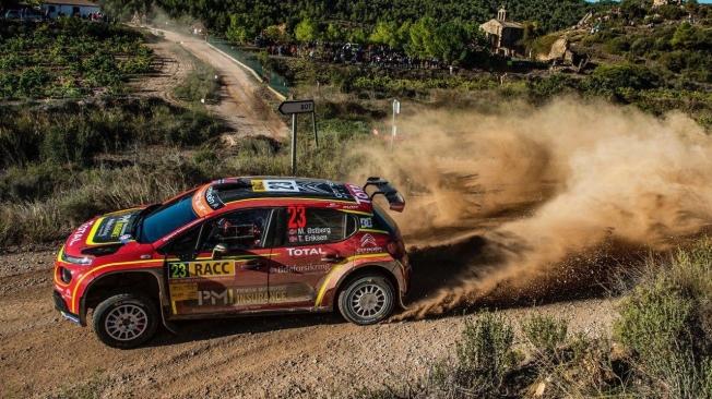 Sébastien Loeb despierta de su letargo y se coloca líder del Rally RACC