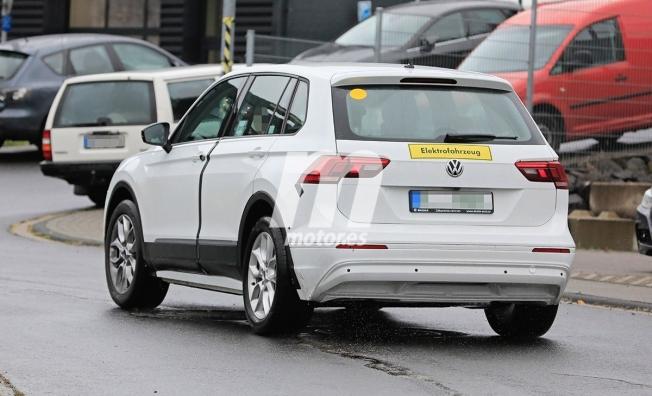 SUV eléctrico de Skoda - foto espía