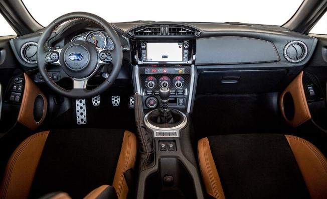 Subaru BRZ Special Edition - interior