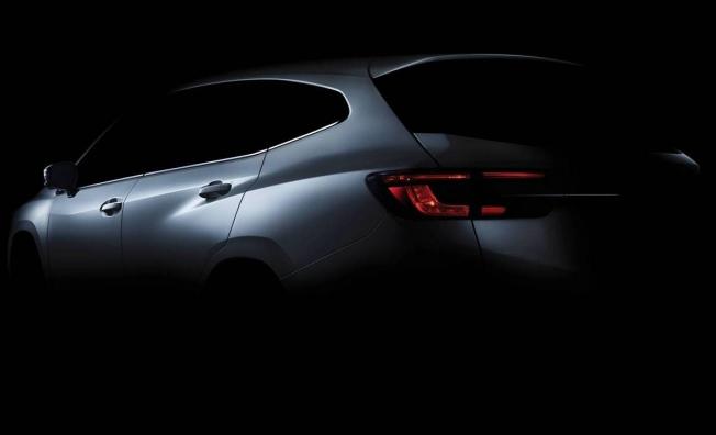 Subaru Levorg Prototype - teaser