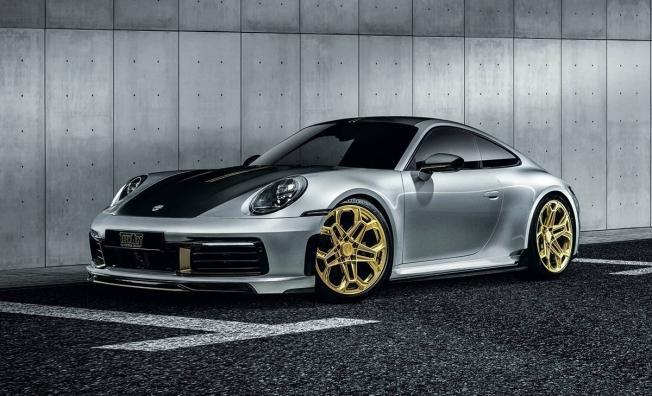 Porsche 911 preparado por TechArt
