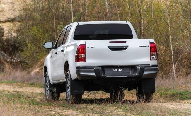 Toyota Hilux - posterior