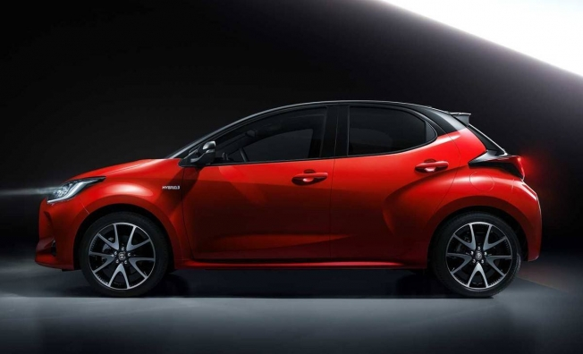Toyota Yaris 2020 - lateral