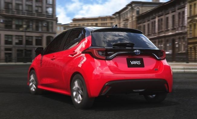 Toyota Yaris 2020 - posterior