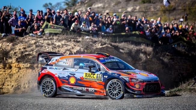 El triunfo de Thierry Neuville en el Rally RACC no evita el título de Ott Tänak