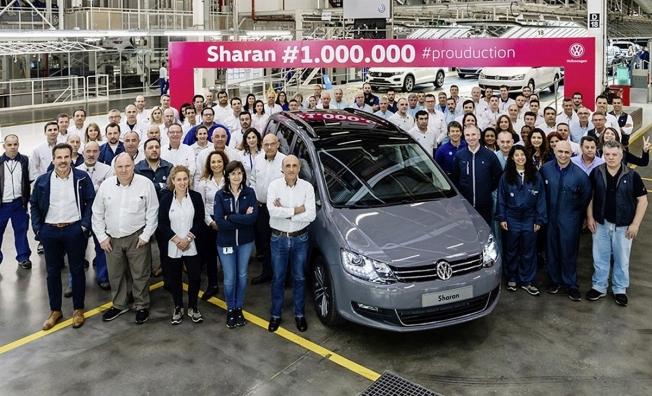 Producción del Volkswagen Sharan un millón
