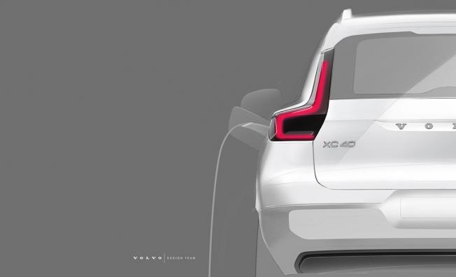 Adelanto del Volvo XC40 eléctrico