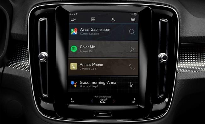 Volvo XC40 Eléctrico - interior