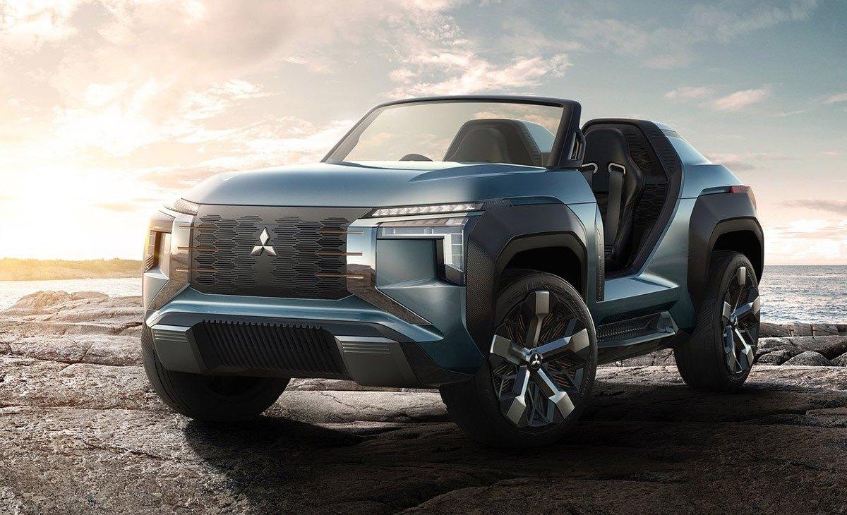 Mitsubishi MI-Tech Concept, el SUV híbrido enchufable del futuro