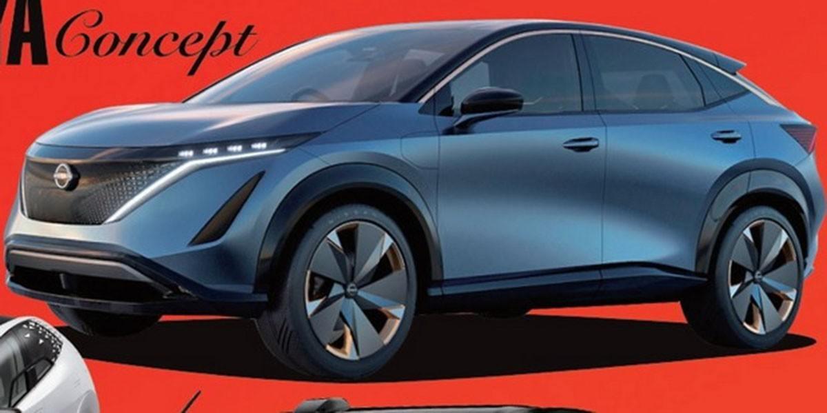 Nissan Ariya Concept, filtrada una de las sorpresas del Salón de Tokio 2019