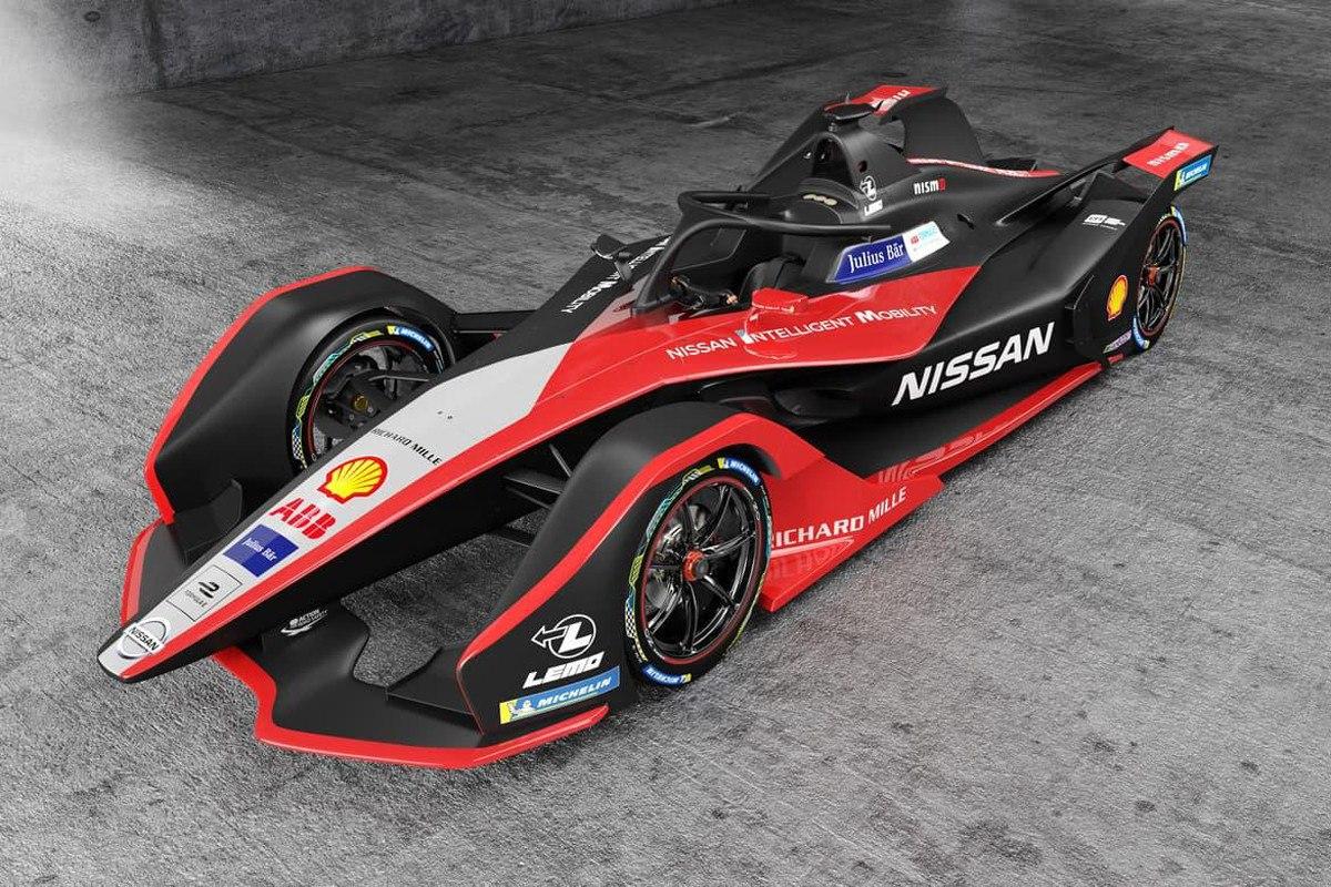 Nissan e.Dams estrena nuevos colores en la Fórmula E con el IM02