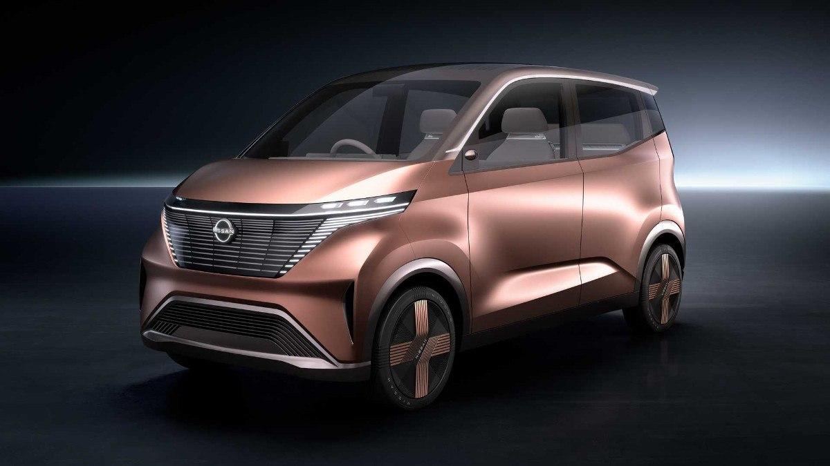 El nuevo Nissan IMk concept desvelado antes de Tokio 2019