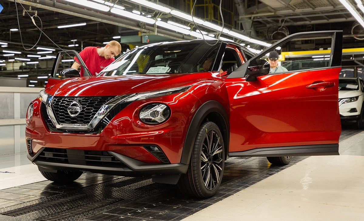 El nuevo Nissan Juke 2020 ya está siendo producido en Sunderland