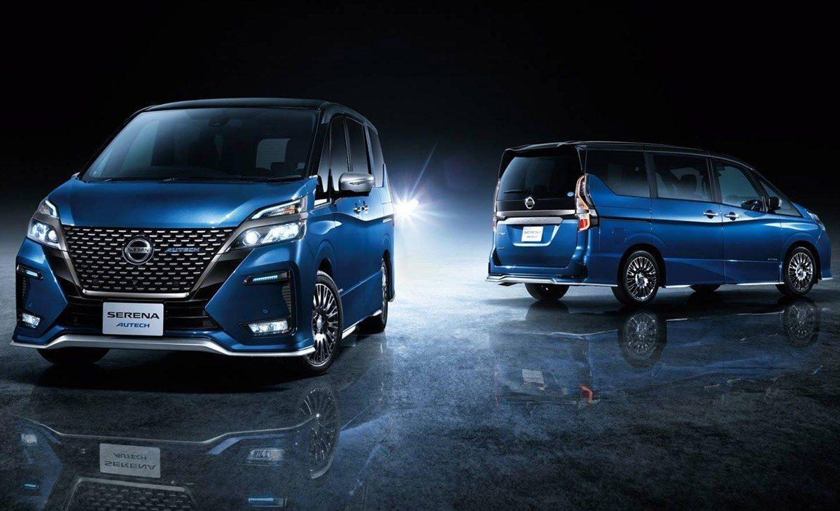 El nuevo Nissan Serena 2020 estrena versión Autech