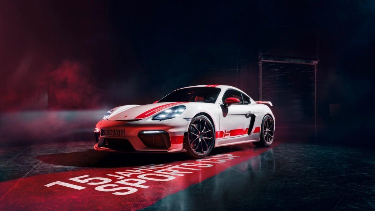 Porsche 718 Cayman GT4 Sports Cup Edition, una edición especial solamente para Alemania