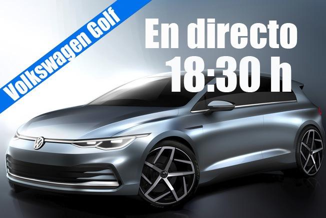 Sigue en directo la presentación del nuevo Volkswagen Golf 2020