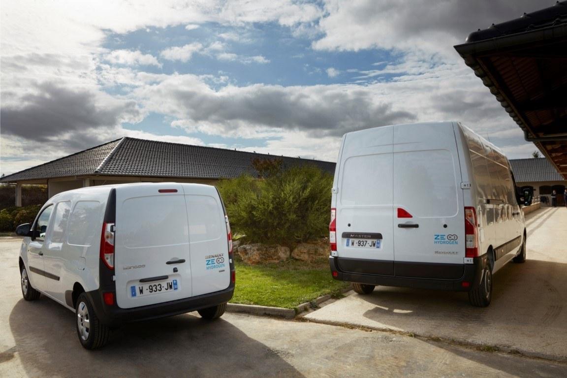 El hidrógeno se estrena en los comerciales eléctricos Renault Kangoo ZE y Master ZE