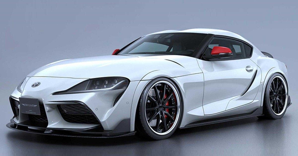 El Toyota Supra más agresivo gracias al nuevo traje de Artisan Spirits
