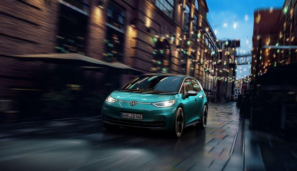 El nuevo Volkswagen ID.3 utiliza la luz como medio de comunicación
