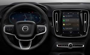 Así es el sistema de multimedia que usará el nuevo Volvo XC40 eléctrico
