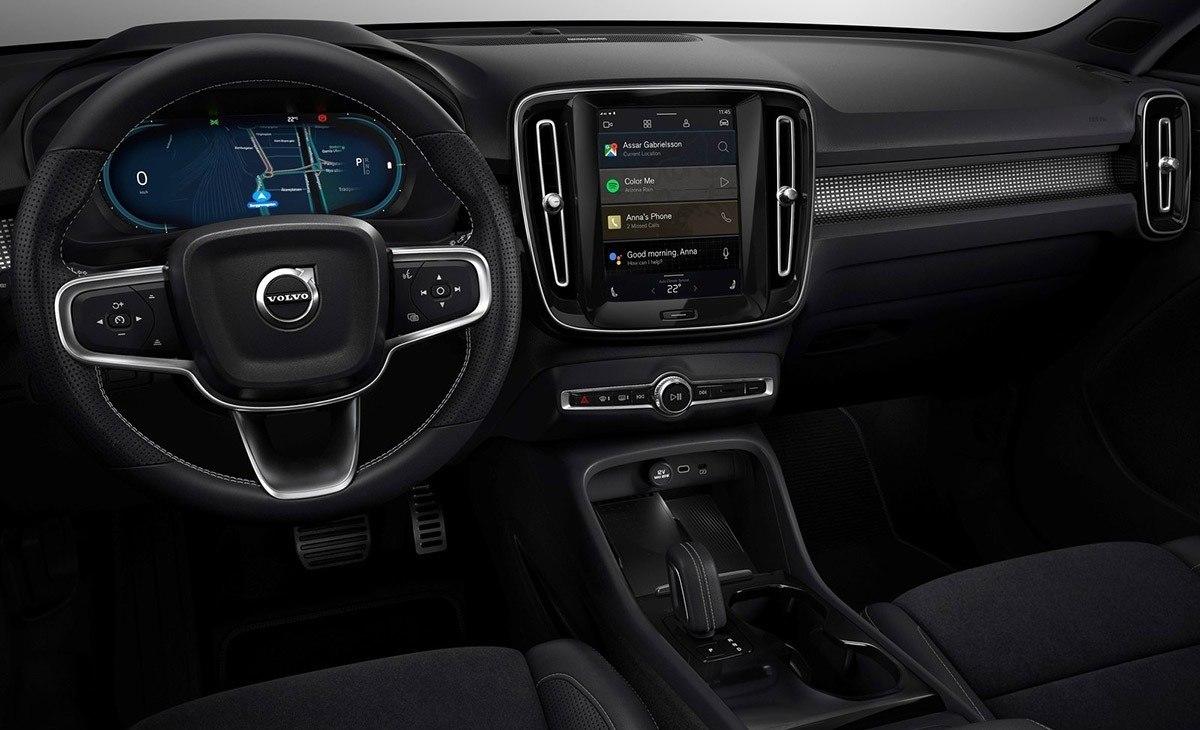 Foto Volvo XC40 Recharge - interior