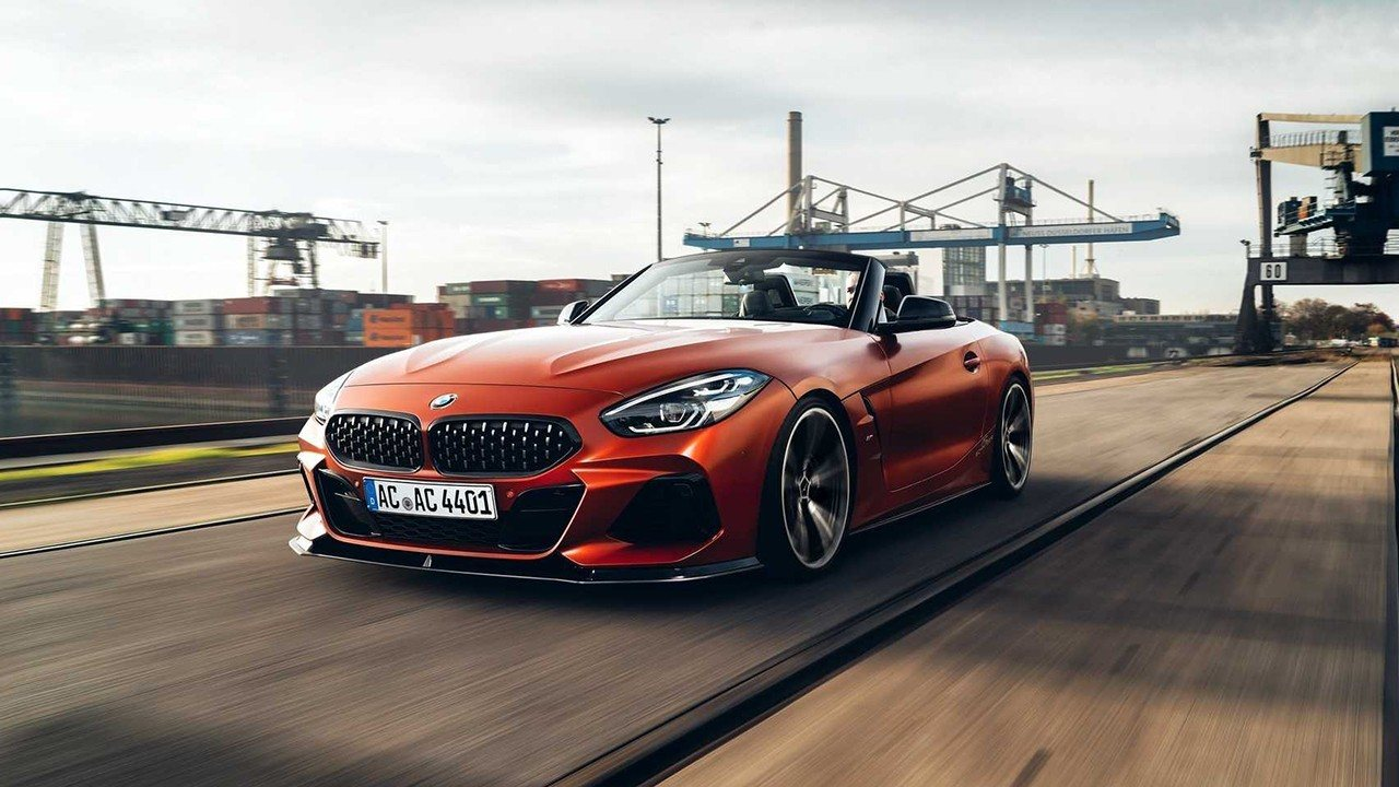 ¡Más radical y deportivo! Así es el BMW Z4 descapotable preparado por AC Schnitzer