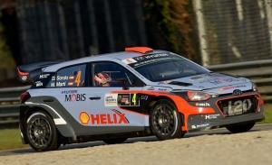 Andreas Mikkelsen y Dani Sordo estarán en el Monza Rally Show 2019