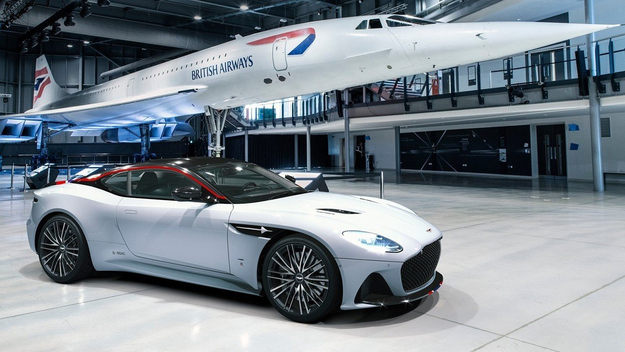 Aston Martin DBS Superleggera Concorde Edition, más ligero y exclusivo