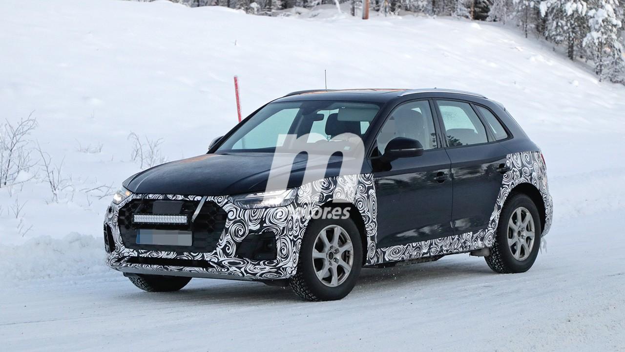 El nuevo Audi Q5 2020 abre la veda de las pruebas de invierno