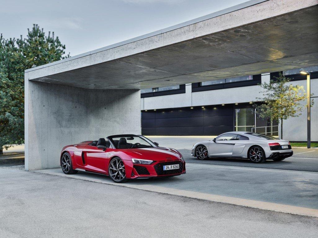 Llegan las versiones de propulsión trasera a los Audi R8 V10 RWD y R8 V10 Spyder RWD