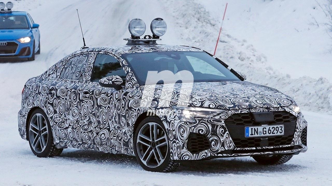 El nuevo Audi S3 Sedán 2020 ya se encuentra en el norte de Europa