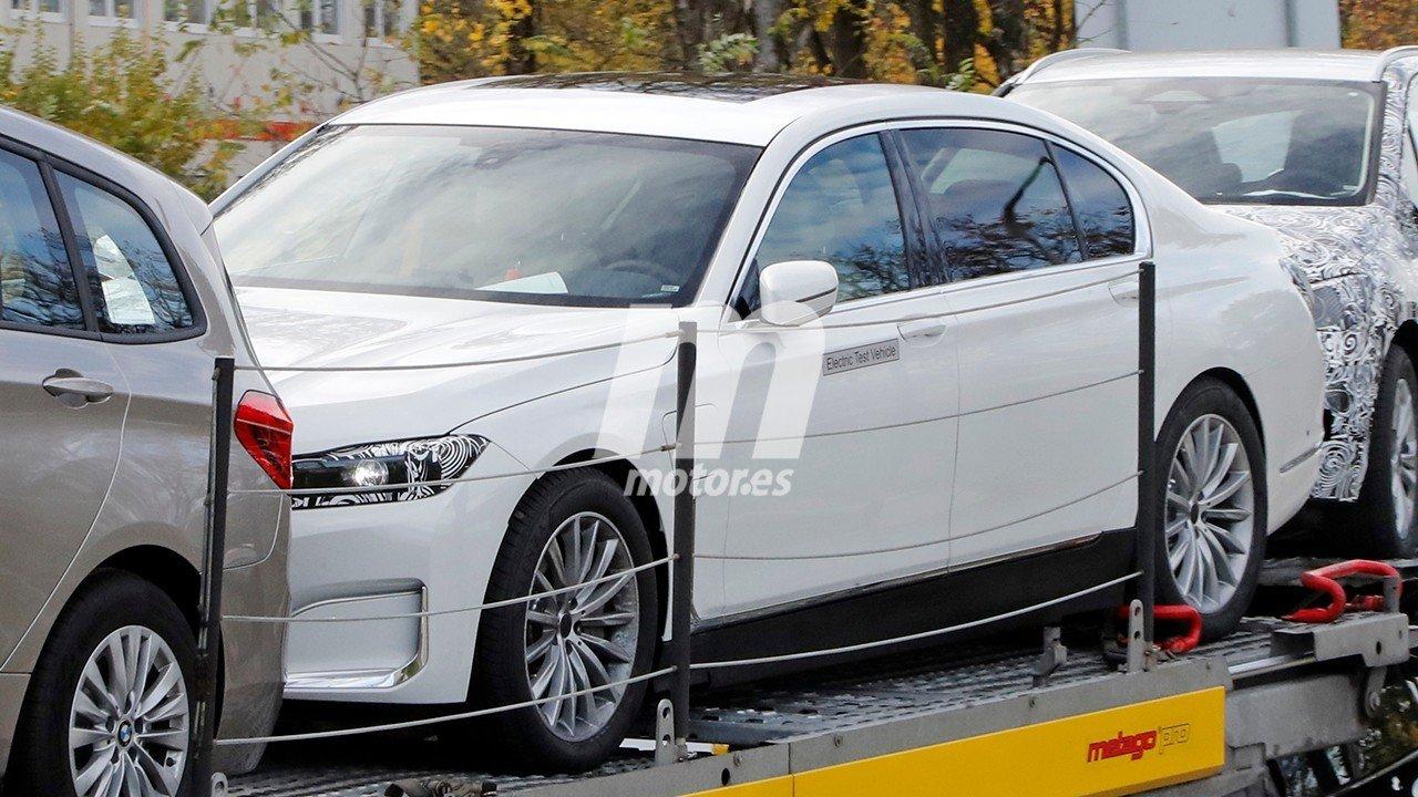 El BMW i7, una berlina de lujo eléctrica, llegará para hacer frente al Mercedes EQS