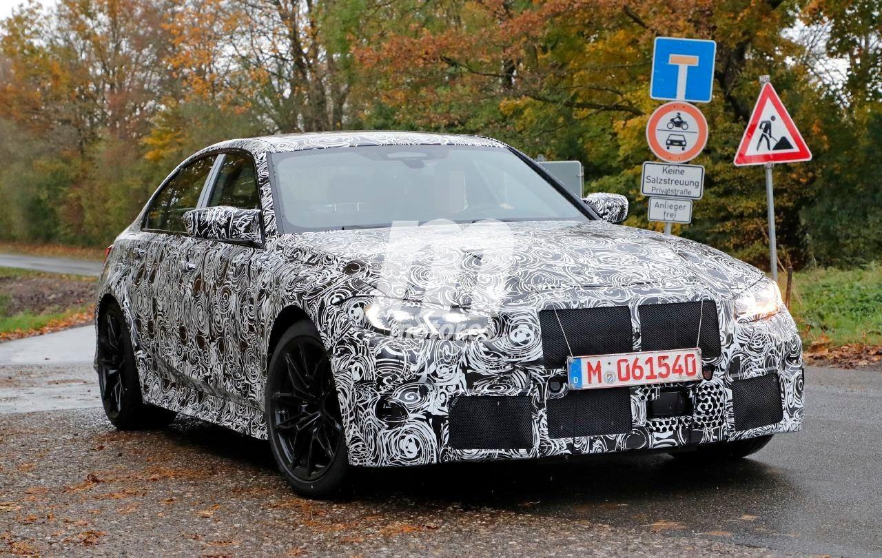 La puesta a punto del nuevo BMW M3 G80 progresa descubriendo nuevos detalles