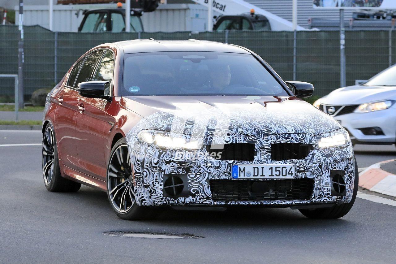 Prototipos del BMW M5 Facelift 2021 dejan a la vista más detalles en nuevas fotos espía